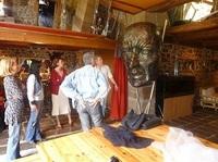 seance autour des sculptures
